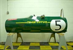 Classic Race Simulators racing sim Lotus 49